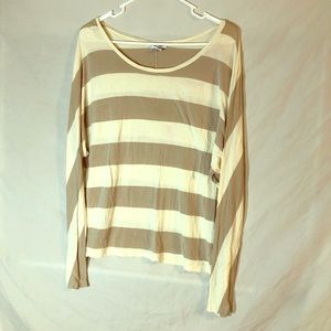 striped long sleeve.